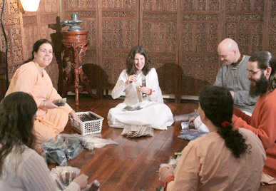 Prabhuji's Gifts Seated Group