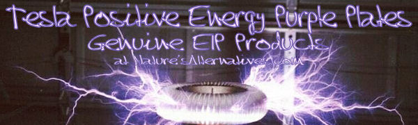 Tesla Positive Energy Purple Plates