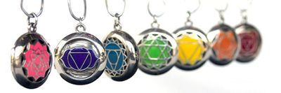 Jewelry Aromatherapy Chakra Scent Chamber Pendants at Nature's Alternatives