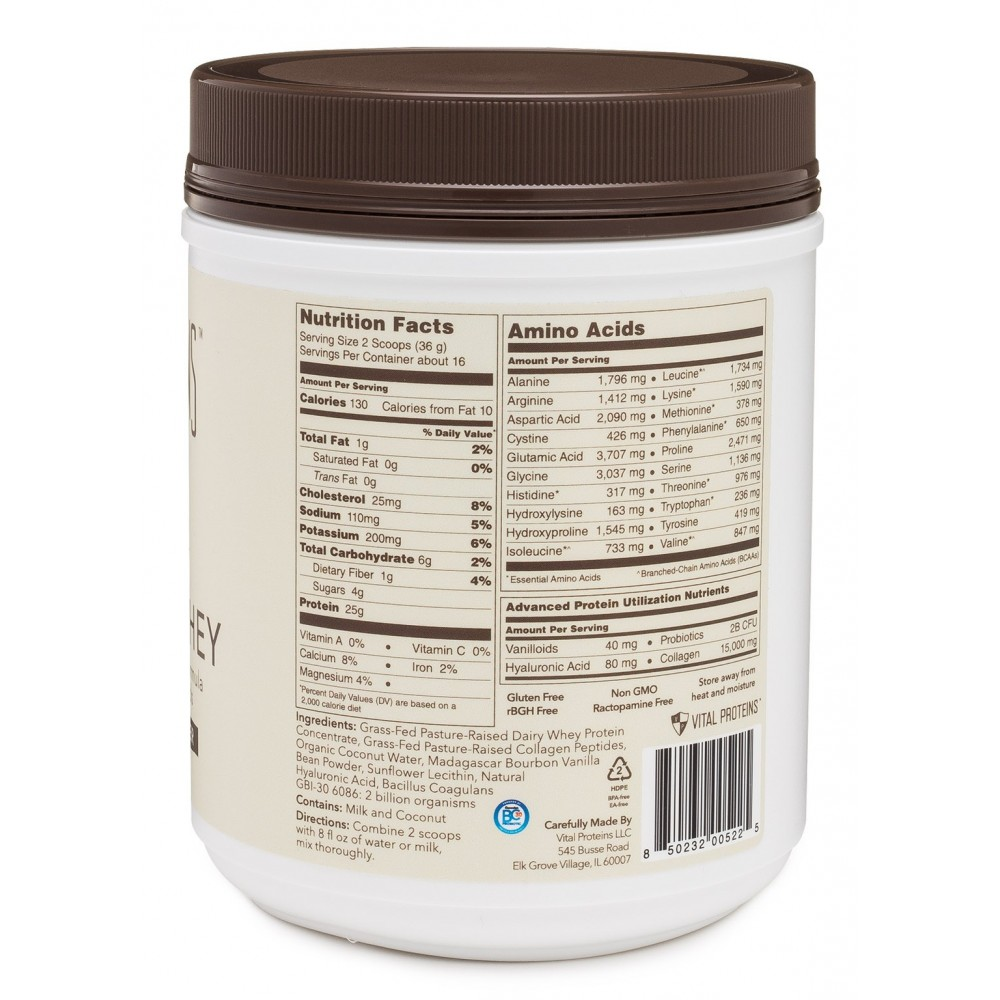 Nature S Way Protein Vanilla