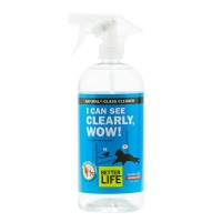 Better Life I Can See Clearly, WOW! Natural Window & Glass Cleaner 32 fl. oz.