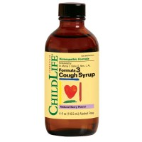 ChildLife Formula 3 Cough Syrup Alcohol-Free Natural Berry 4oz.