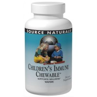 Source Naturals Children's Immune Chewable Wafers