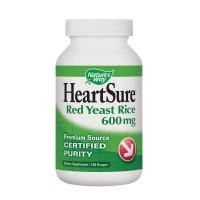 Nature's Way HeartSure Organic Red Yeast Rice 600 mg 120 Vegetarian Capsules