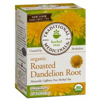 Traditional Medicinals Organic Roasted Dandelion Root Tea 16 Teabags