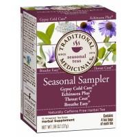 Traditional Medicinals Seasonal Sampler Tea 16 Teabags