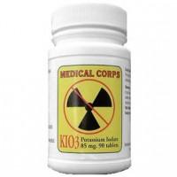 Medical Corps Potassium Iodate KIO3 85 mg 90 Tablets