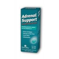 NatraBio Adrenal Support Unflavored Homeopathic Liquid 1 fl. oz.