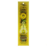 Prabhuji's Gifts Stick Incense Muladhara Root Chakra Grounding & Serenity Sandalwood, Patchouli, Khus, & Clove 10 Sticks