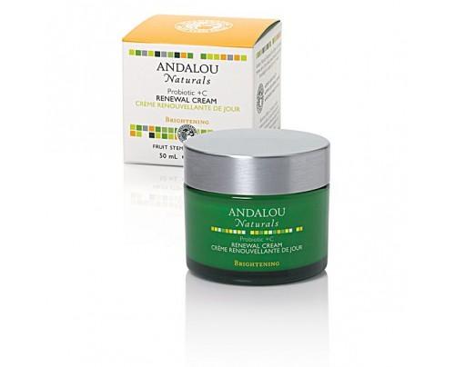 Andalou Naturals Probiotic + Vitamin C Renewal Cream 1.7 oz.