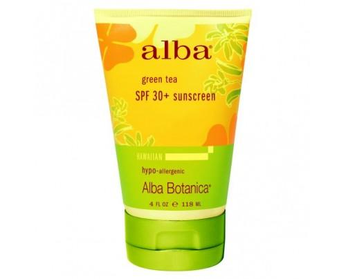 Alba Botanica Hawaiian Green Tea SPF45+ Sunscreen 4 fl. oz.