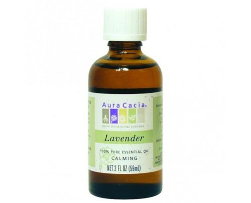 Aura Cacia Essential Oil Lavender (Lavendula augustifolia) 2oz.