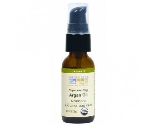 Aura Cacia Argan Skin Care Oil Certified Organic 1oz.