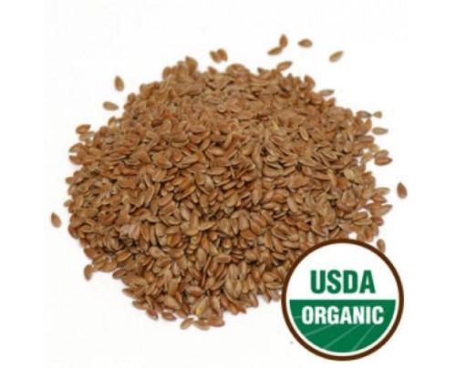 Starwest Botanicals Organic Flax Seed Bulk 1 lb.