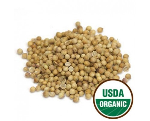 Starwest Botanicals Organic Coriander Seed Bulk 1lb.