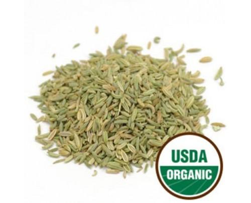 Starwest Botanicals Organic Fennel Seed Bulk 1lb.