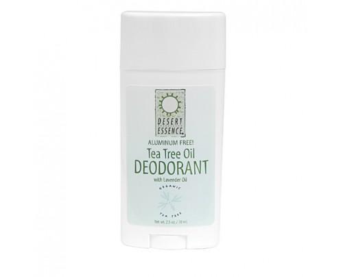 Desert Essence Tea Tree Oil Stick Deodorant with Lavender 2.5oz.