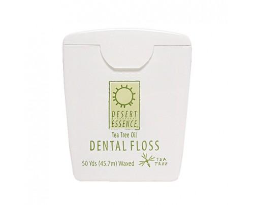 Desert Essence Tea Tree Oil Waxed Dental Floss 50 yds.