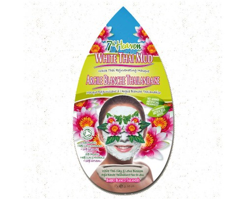 7th Heaven White Thai Mud White Thai Rejuvenating Mask