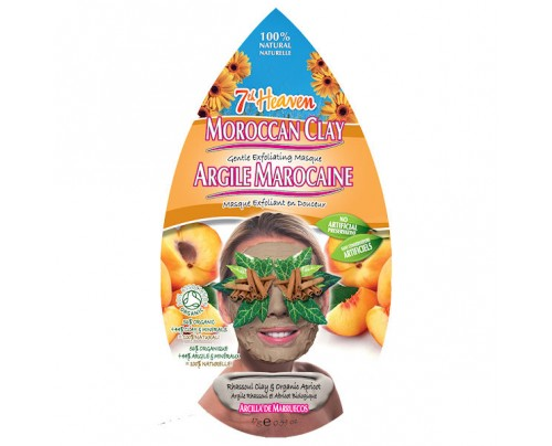 7th Heaven Moroccan Clay Gentle Exfoliating Mask