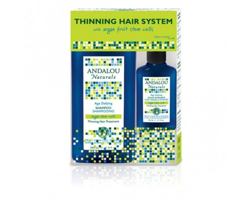 Andalou Naturals Age Defying Treatment Thinning Hair System