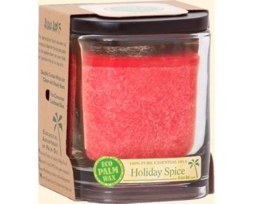 Aloha Bay Candle Aloha Jar Holiday Spice Red 8oz.
