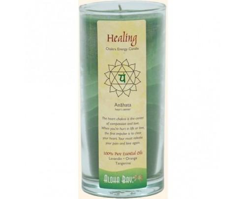 Aloha Bay Candle Chakra Energy Jar Healing (Anahata) Green 11oz.