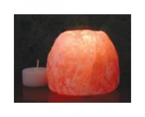 """Aloha Bay Himalayan Salt Crystal Tealight Holder Small 2.25"""""""