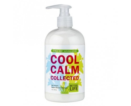 Better Life Cool Calm Collected Natural Hand & Body Lotion Citrus & Mint 12 oz.