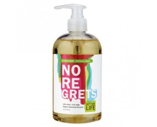 Better Life No Regrets Natural Liquid Hand & Body Soap Citrus & Mint 12 oz.