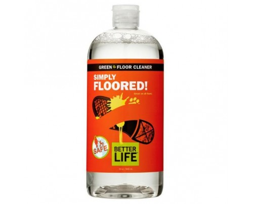 Better Life Simply Floored! Natural Ready-to-Use Floor Cleaner Citrus & Mint 32 oz.