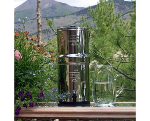 New Millennium Concepts Big Berkey 2.25 Gallon Stainless Steel Water Purifier