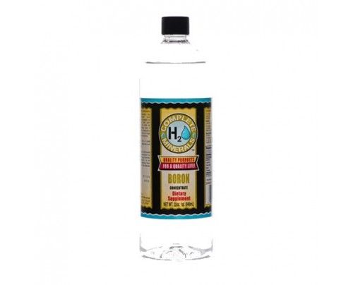 Complete H2O Minerals Boron Ionic Mineral Water 20 ppm 32 fl. oz.