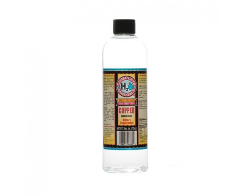 Complete H2O Minerals Copper Ionic Mineral Water 75 ppm 16 fl. oz.