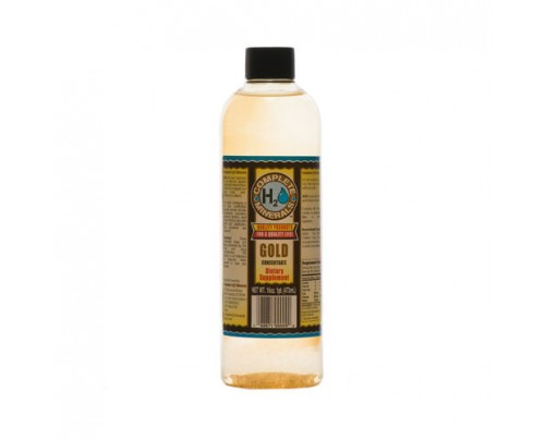 Complete H2O Minerals Gold Ionic Mineral Water 50 ppm 16 fl. oz.