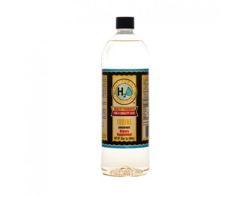 Complete H2O Minerals Iodine Ionic Mineral Water 15 ppm 32 fl. oz.