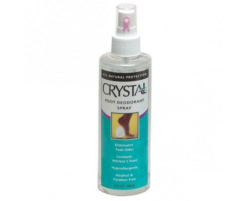 Crystal Foot Deodorant Spray 8oz.