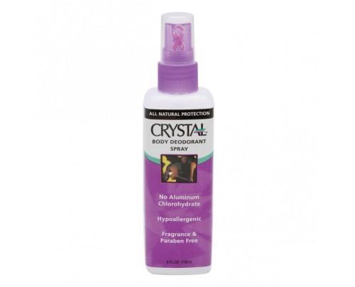 Crystal Body Deodorant Spray 4oz.