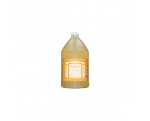 Dr. Bronner's Organic 18-in-1 Hemp Pure Castile Liquid Soap Citrus Orange Gallon