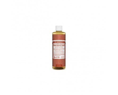 Dr. Bronner's Organic 18-in-1 Hemp Pure Castile Liquid Soap Eucalyptus 16 fl. oz.