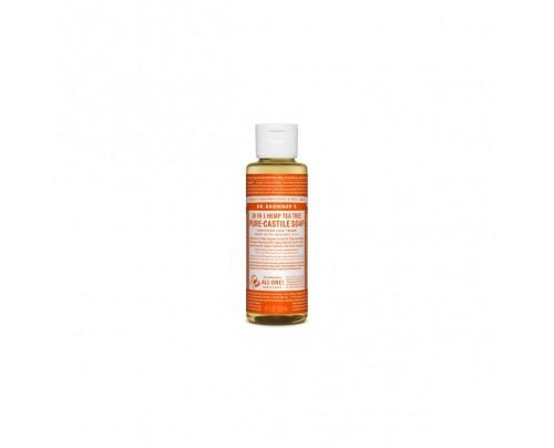 Dr. Bronner's Organic 18-in-1 Hemp Pure Castile Liquid Soap Tea Tree 4 fl. oz.