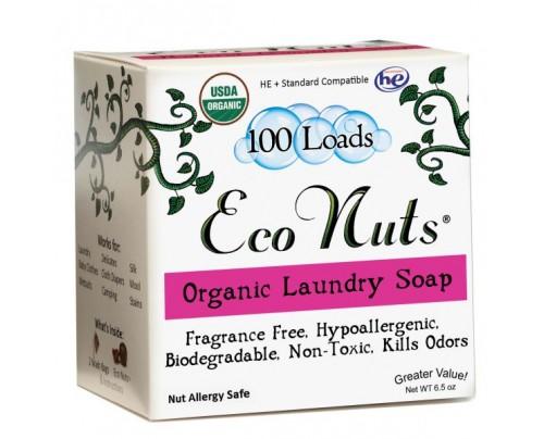 Eco Nuts Organic Laundry Soap Nuts 100 Loads 6.5 oz.