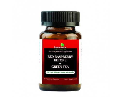 Futurebiotics Raspberry Ketone Plus Green Tea 60 Vegetarian Capsules