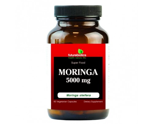 Futurebiotics Moringa 5000mg 60 Vegetarian Capsules