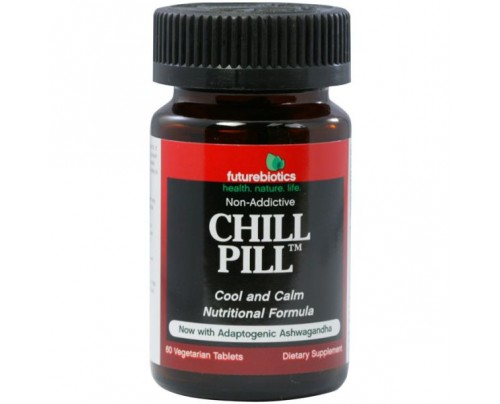 Futurebiotics Chill Pill Calmness Formula 60 Tablets