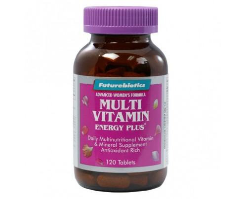Futurebiotics Hi Energy Multi Vitamin Energy Plus for Women 120 Tablets