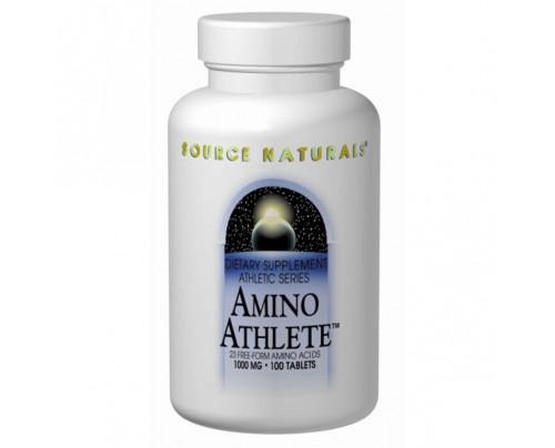 Source Naturals Amino Athlete 1,000mg Tablets