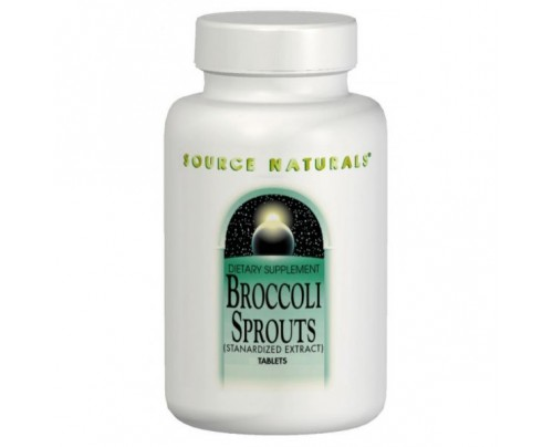 Source Naturals Broccoli Sprouts Standardized Extract 0.4% 250 mg with 1000 mcg Sulforaphane 60 Tablets