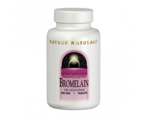 Source Naturals Bromelain Capsules & Tablets