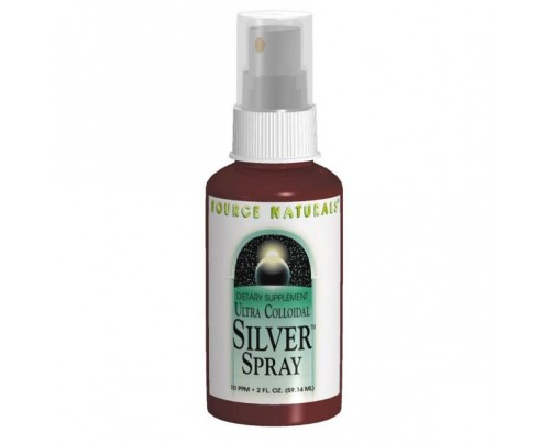 Source Naturals Ultra Colloidal Silver Spray 10 ppm 1 fl. oz.